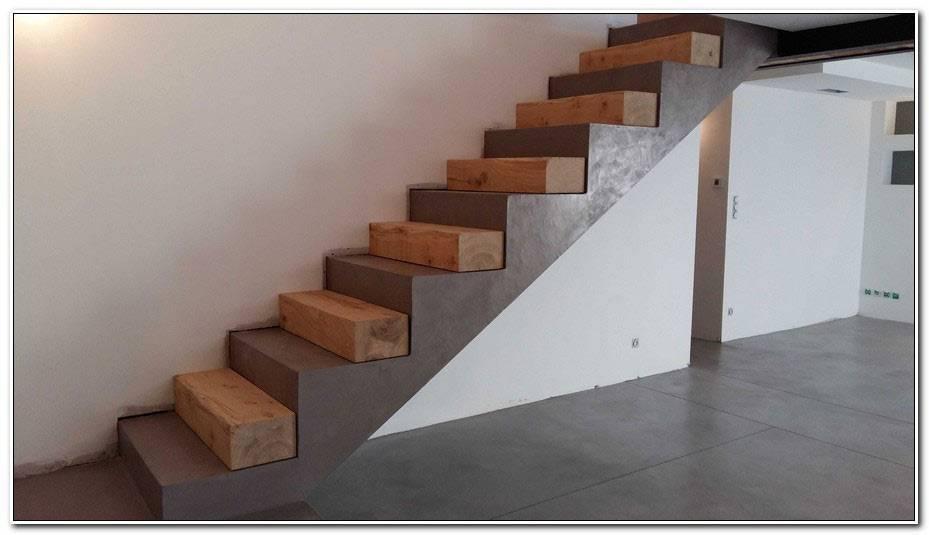 Revetement Escalier Beton Interieur