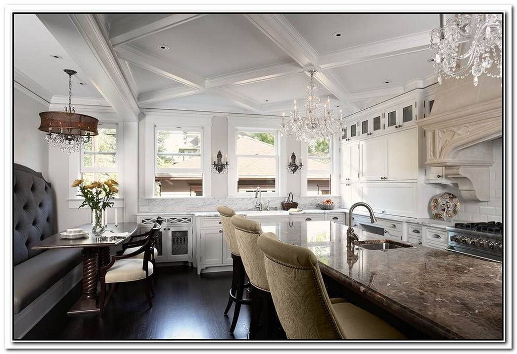 Revisit Traditional Architecture By Opting For Coffered Ceilings