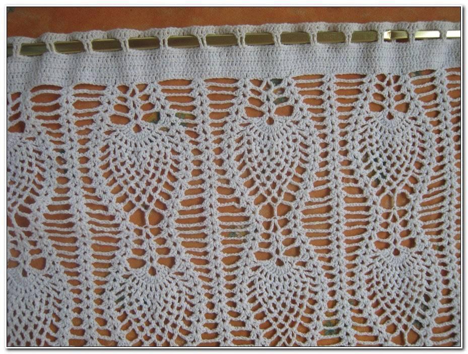 Rideau En Crochet