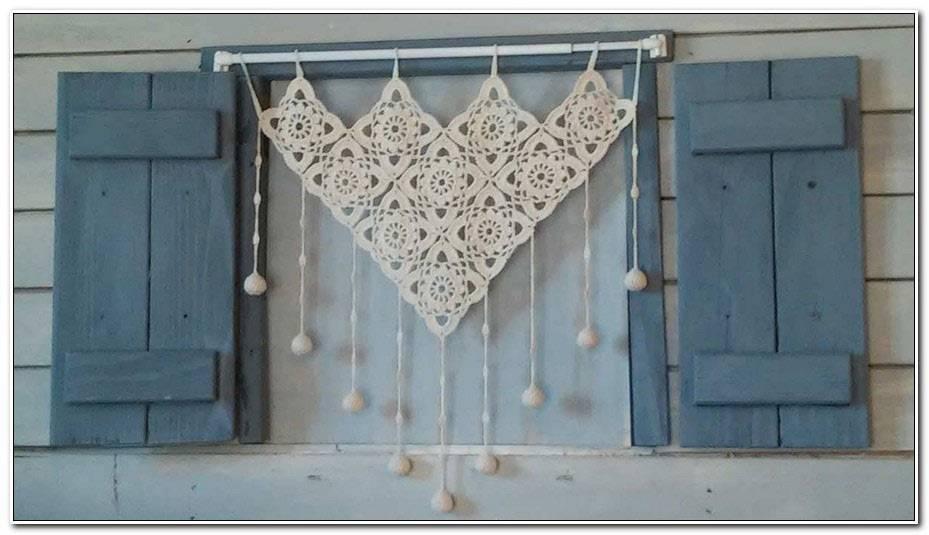 Rideaux Au Crochet A Faire Soi Meme