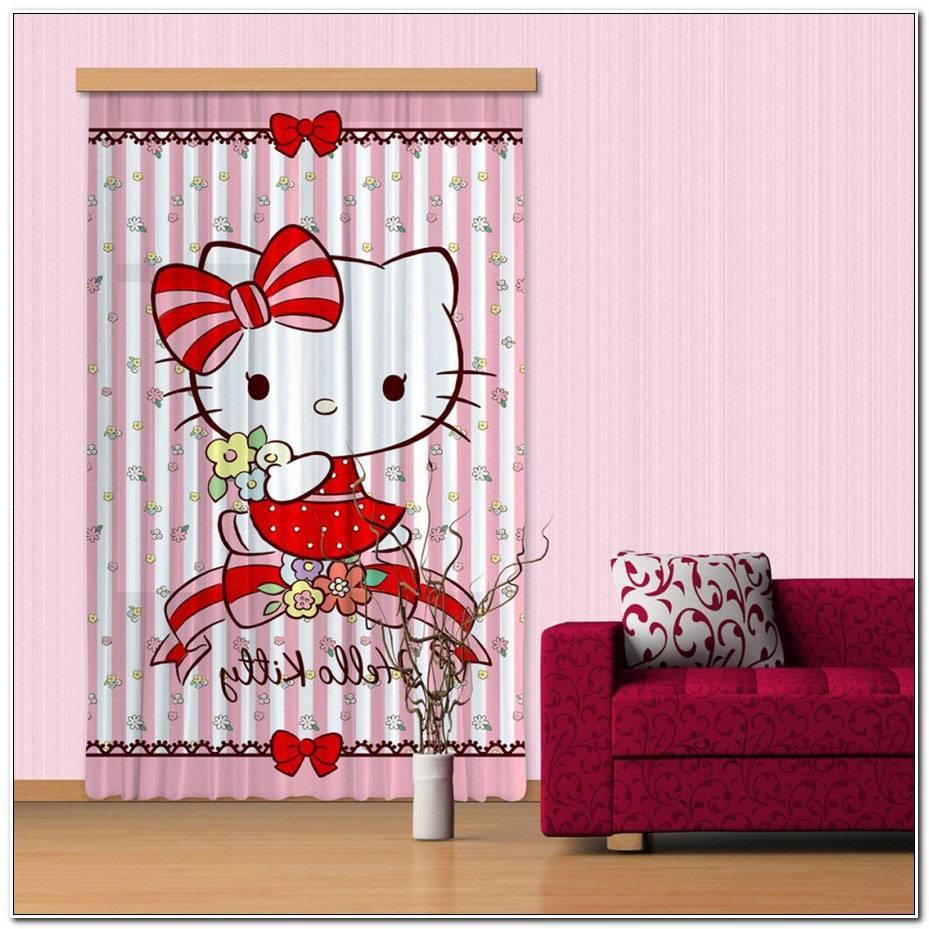 Rideaux Hello Kitty Pas Cher
