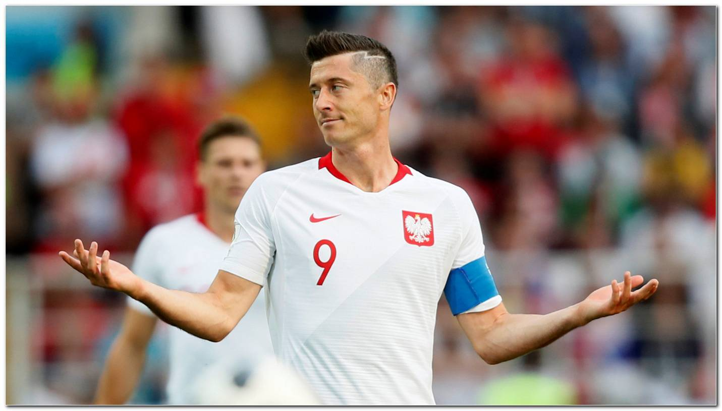 Robert Lewandowski Frisur 2018