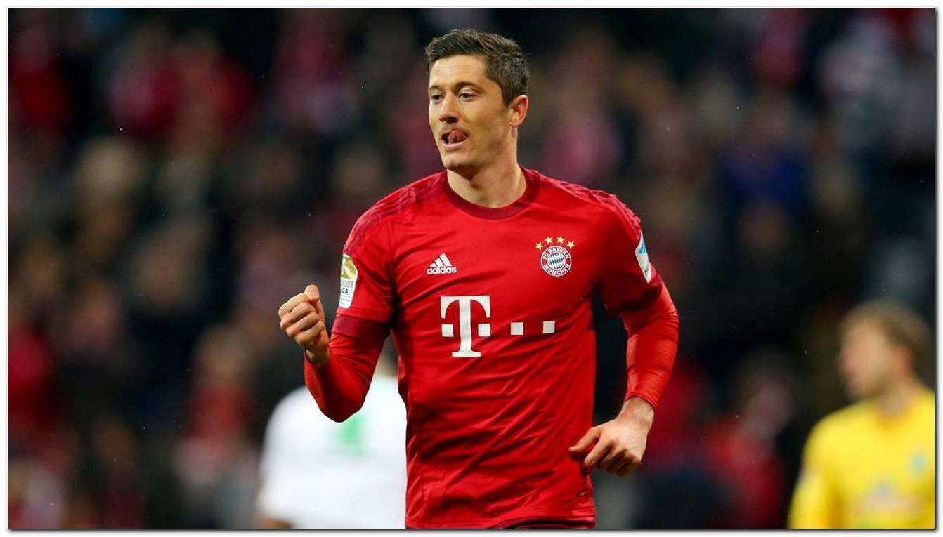 Robert Lewandowski Frisur