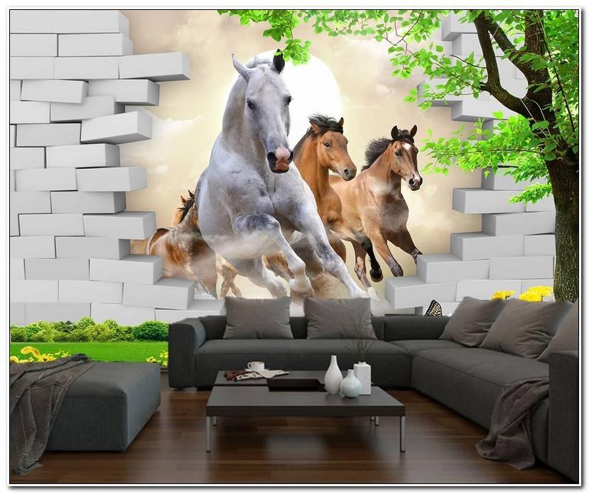 Room Fototapete Pferd