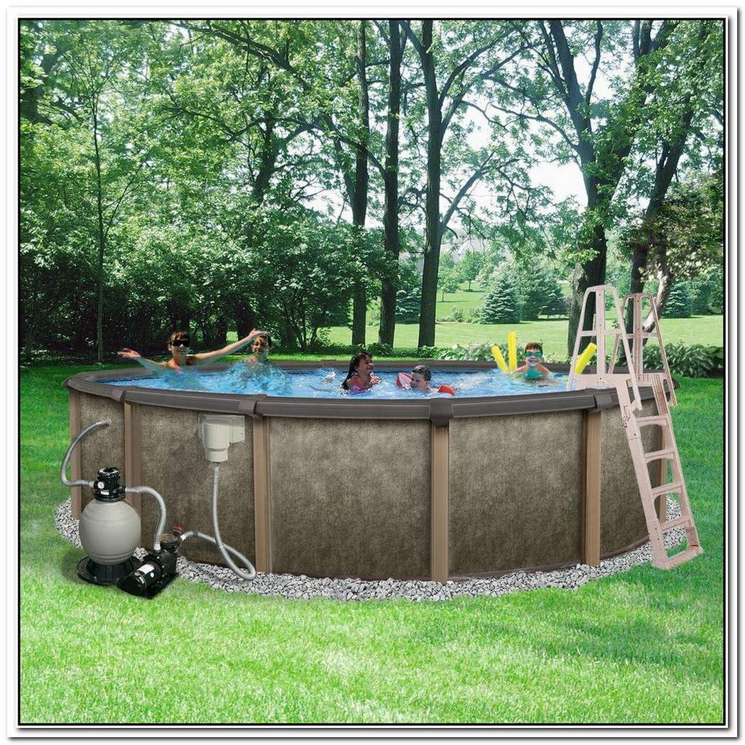 Round Metal Wall Swimming Pool