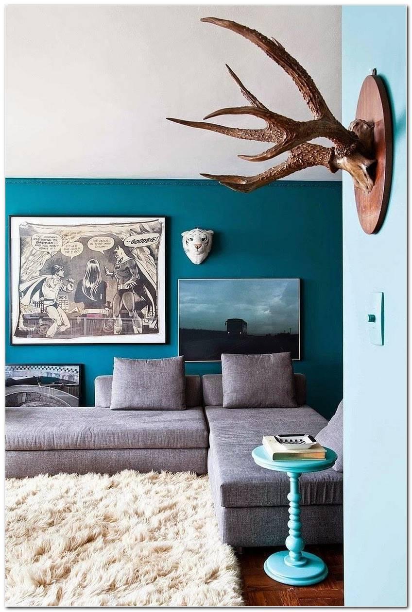 Sala Azul Como Decorar E Compor Com As Tonalidades Da Cor