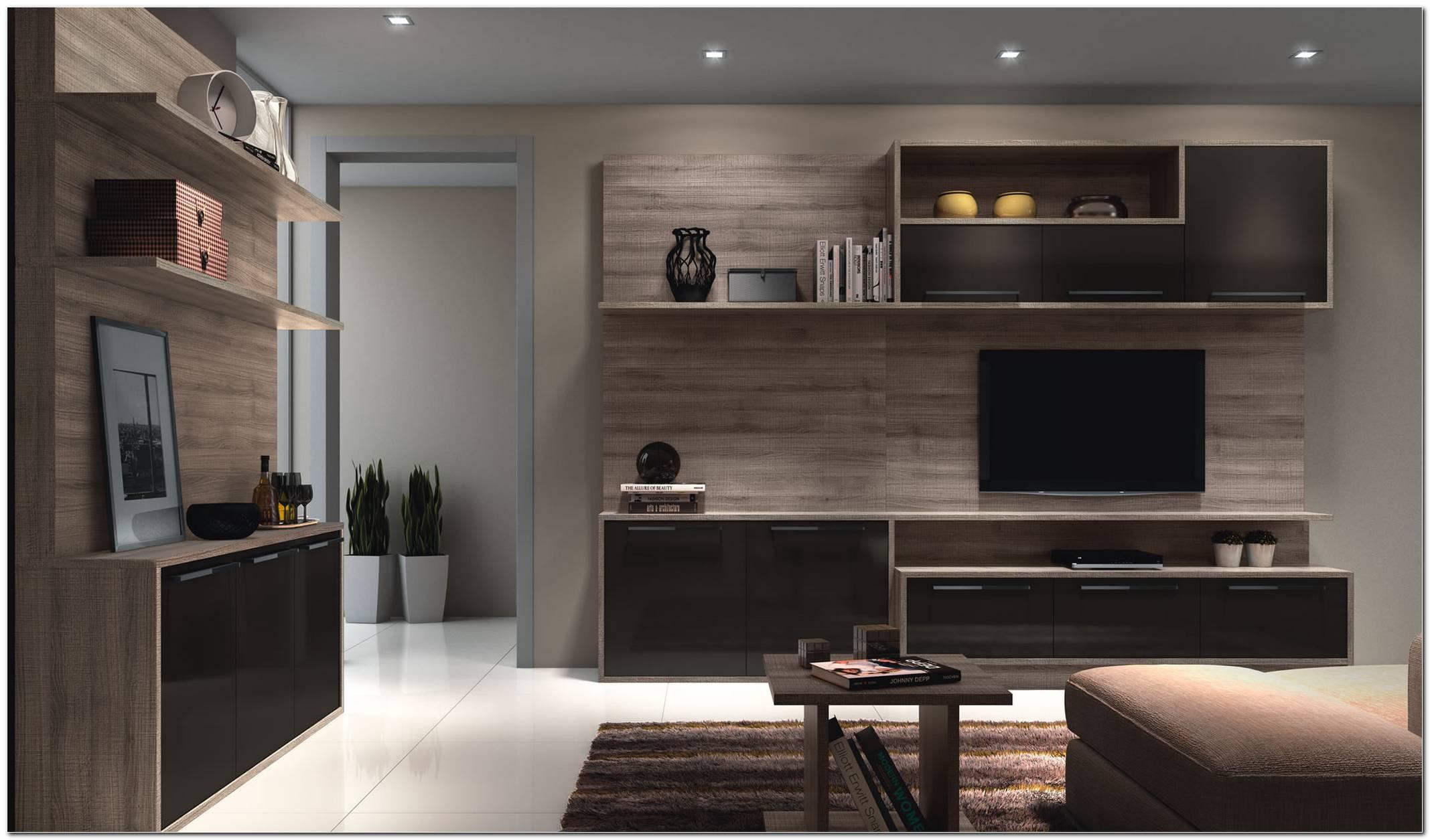 Sala Com Móveis Planejados