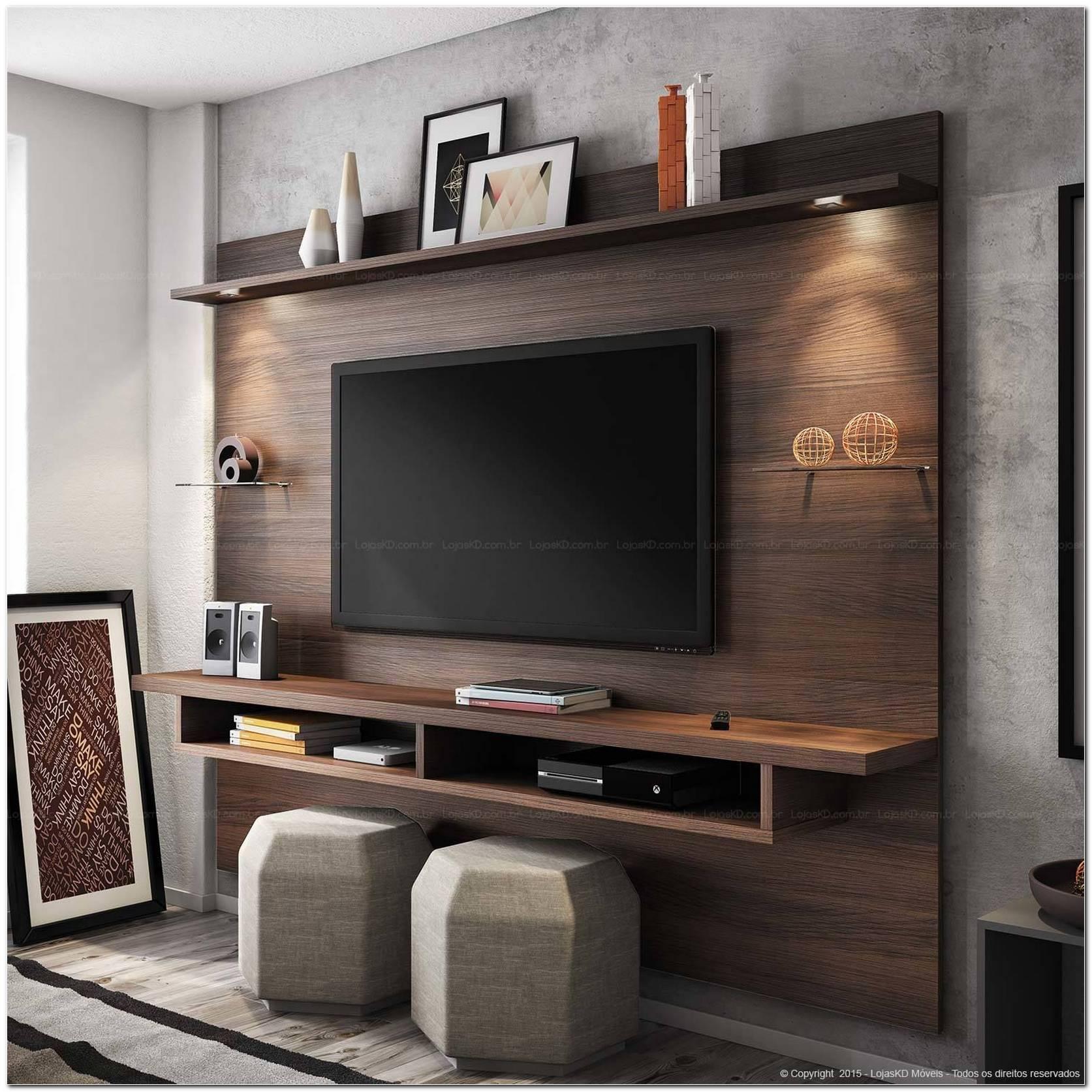 Sala Com Painel Pra Tv