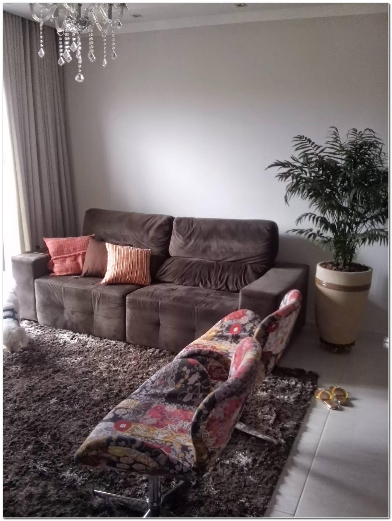 Sala Com Sofá Marrom Ideias Melhores Combinações E 30 Fotos
