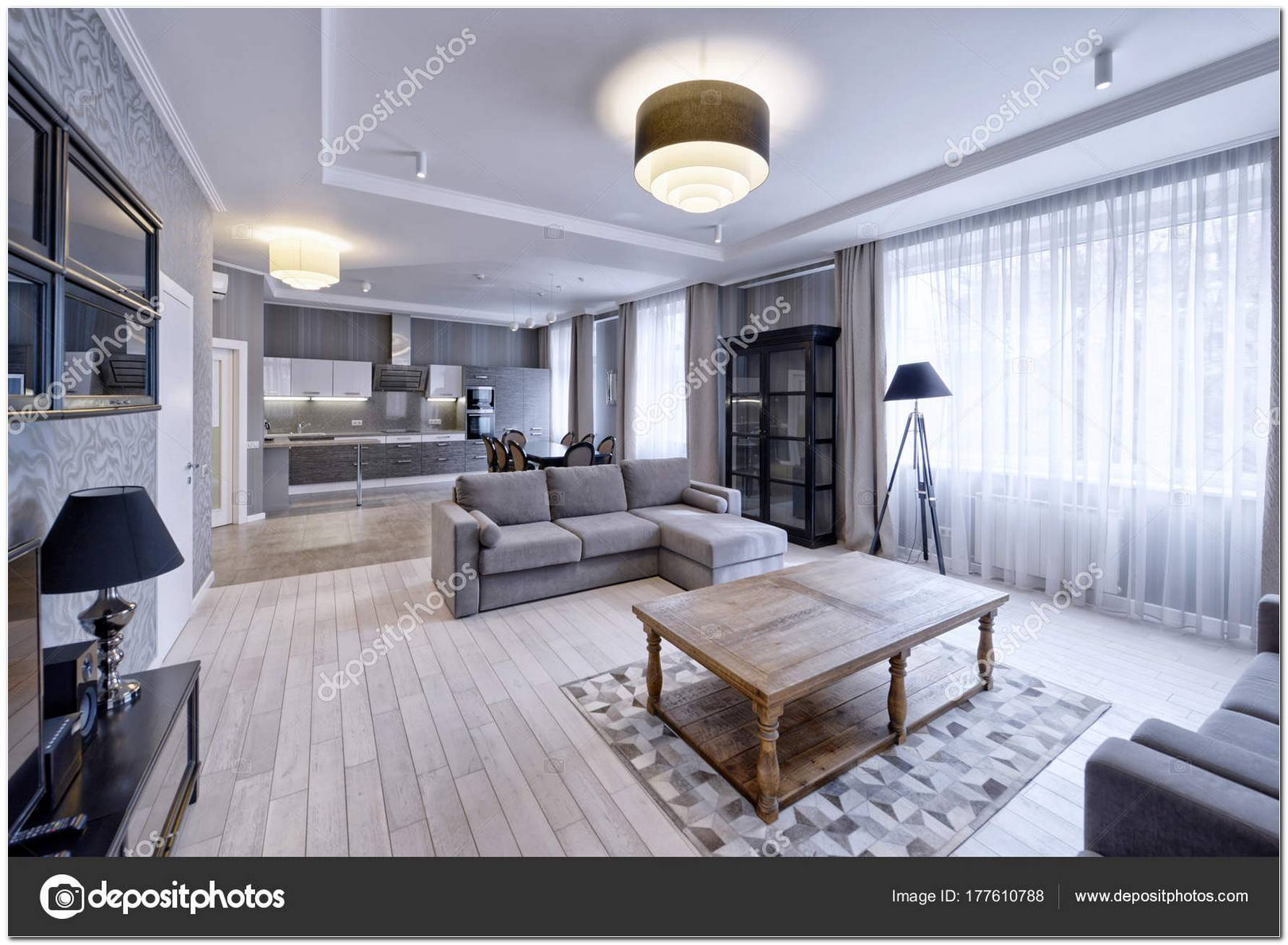 Sala De Estar Apartamento Moderno