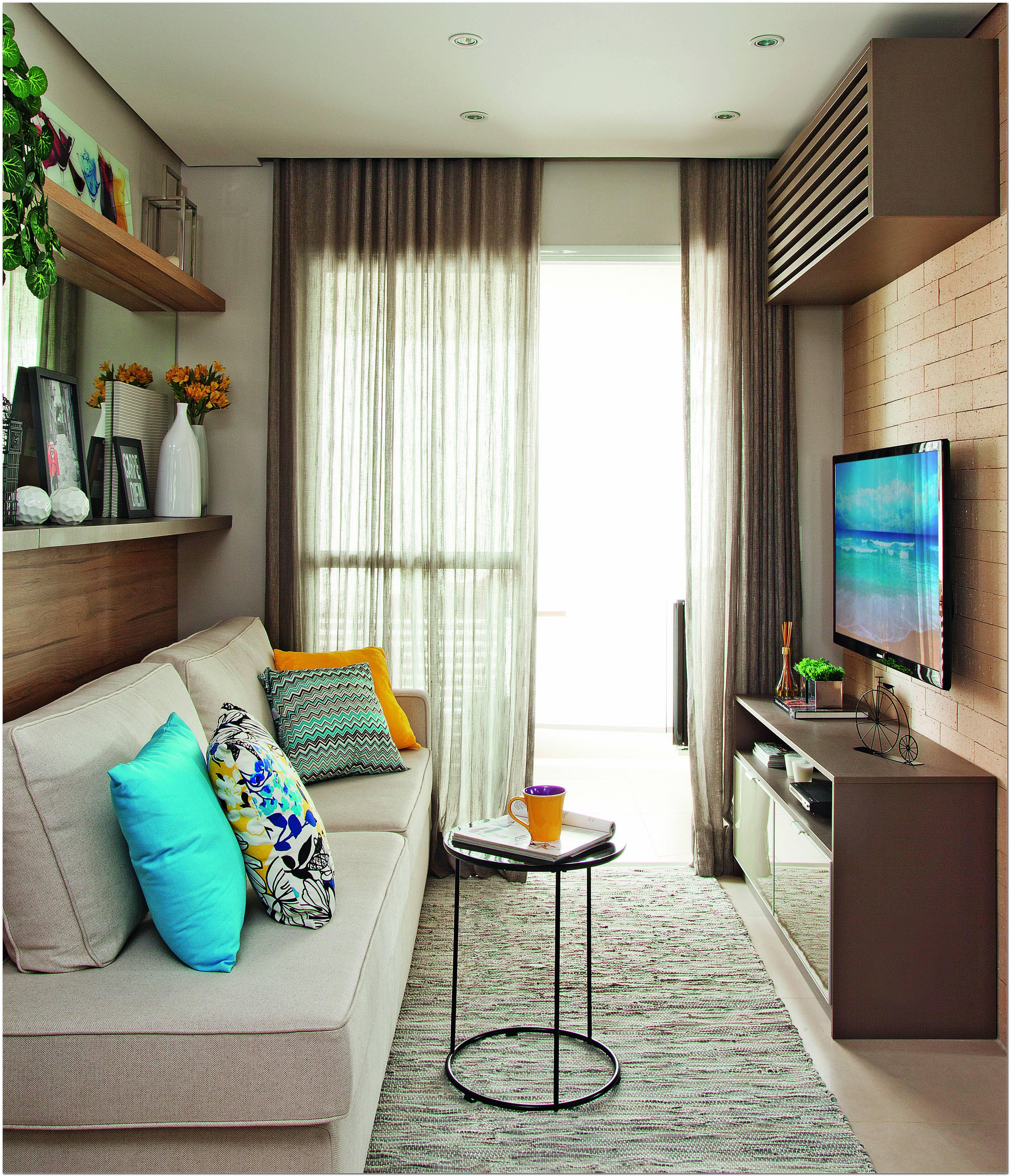 Sala De Estar Apartamento Pequeno