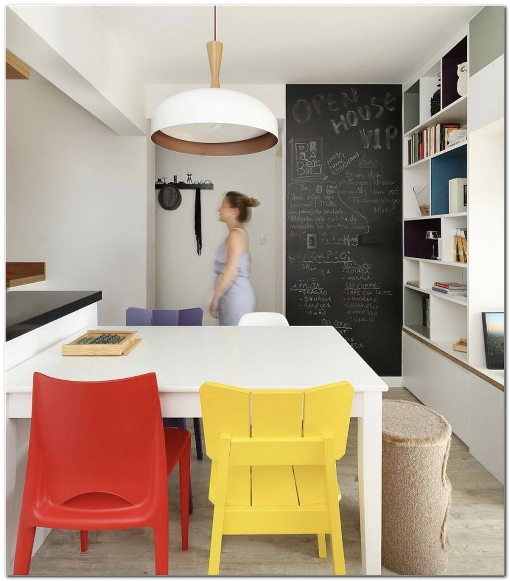 Sala De Estar Com Sala De Jantar Pequena