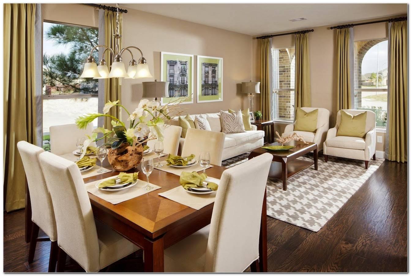 Sala De Estar E Jantar No Mesmo Ambiente