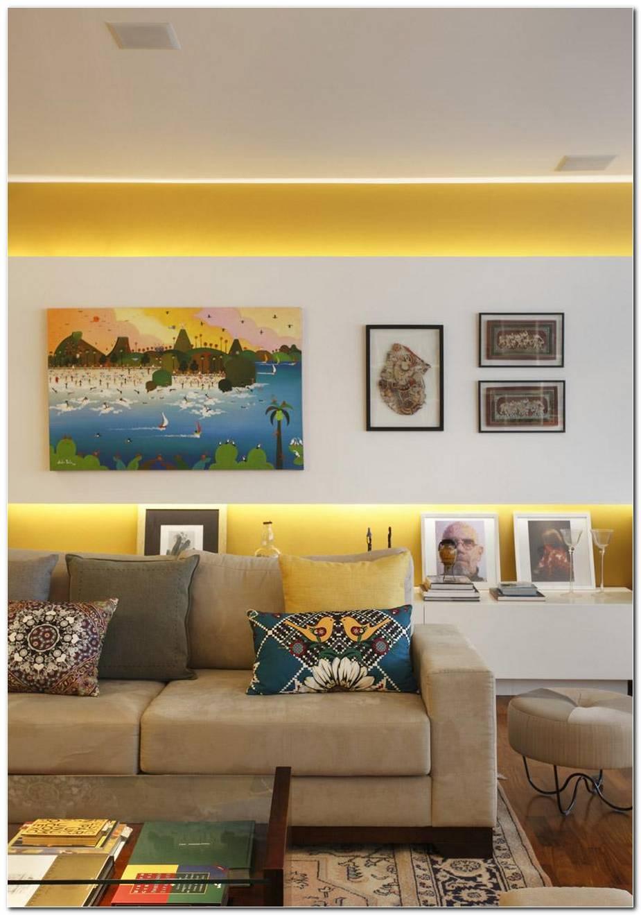 Sala De Estar Em Amarelo