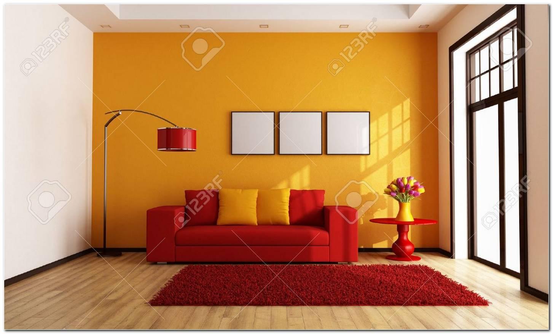 Sala De Estar En Naranja
