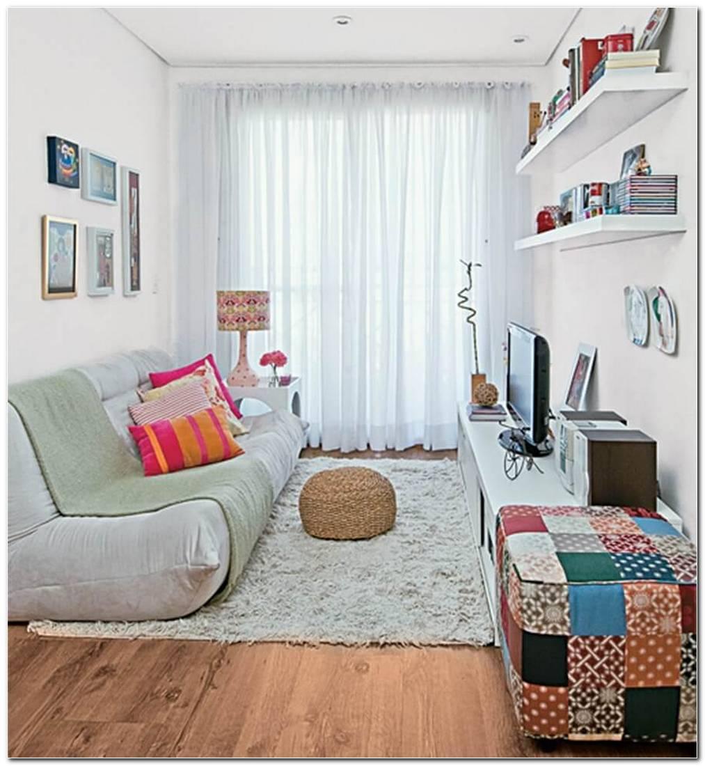 Sala De Estar Pequena E Bonita