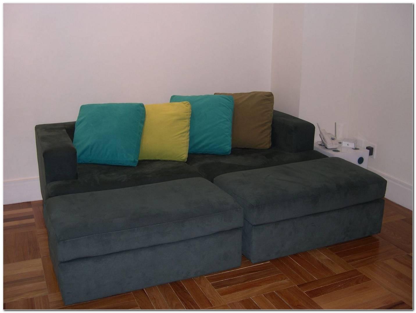 Sala De Estar Sofa Cinza Escuro