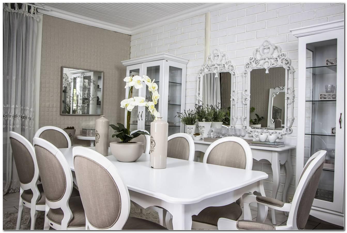 Sala De Jantar Branca Provencal