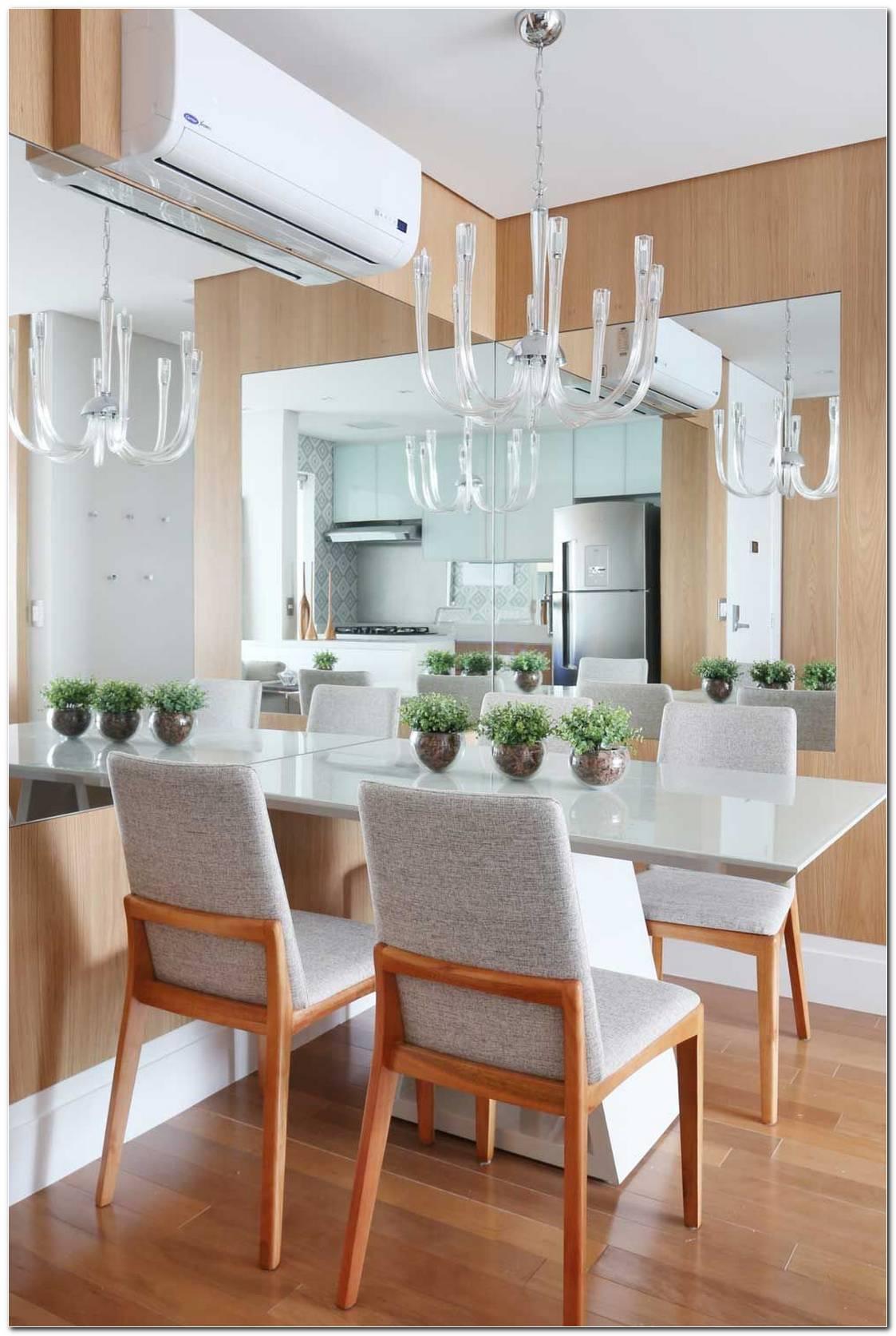 Sala De Jantar Com Mesa Branca