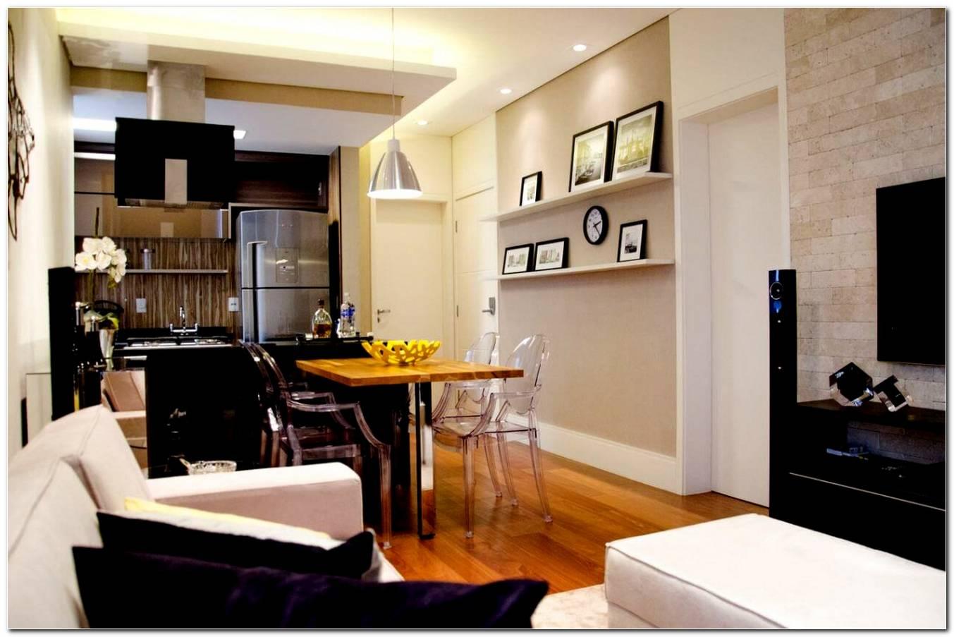 Sala De Jantar Com Sala De Tv Pequena