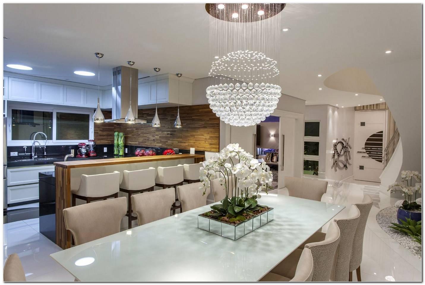 Sala De Jantar E Cozinha Integradas