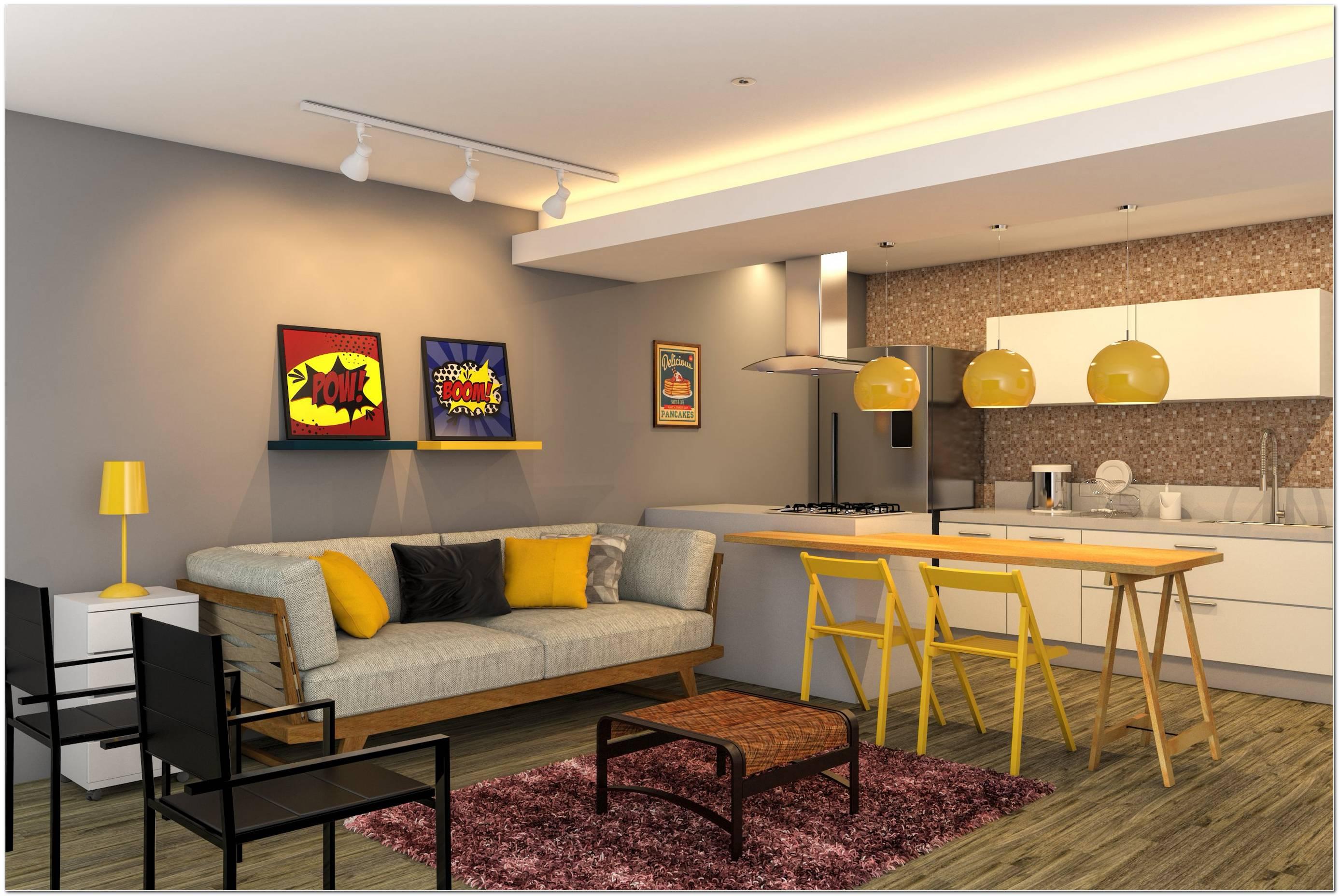 Sala De Jantar E Tv