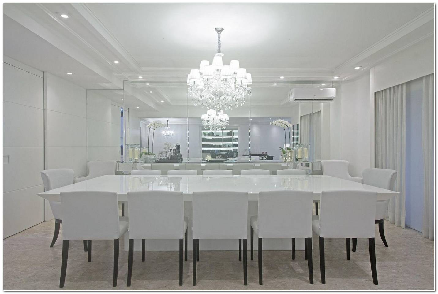 Sala De Jantar Em Branco