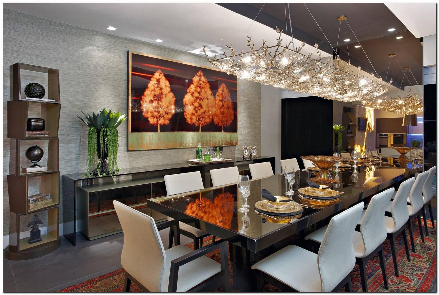 Sala De Jantar Grande De Luxo