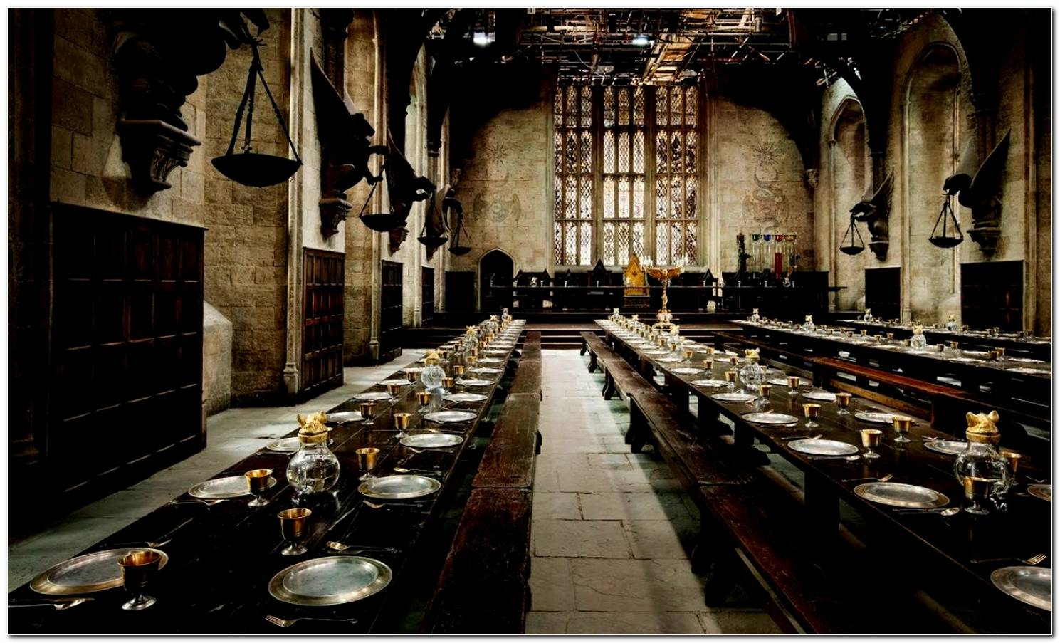 Sala De Jantar Harry Potter