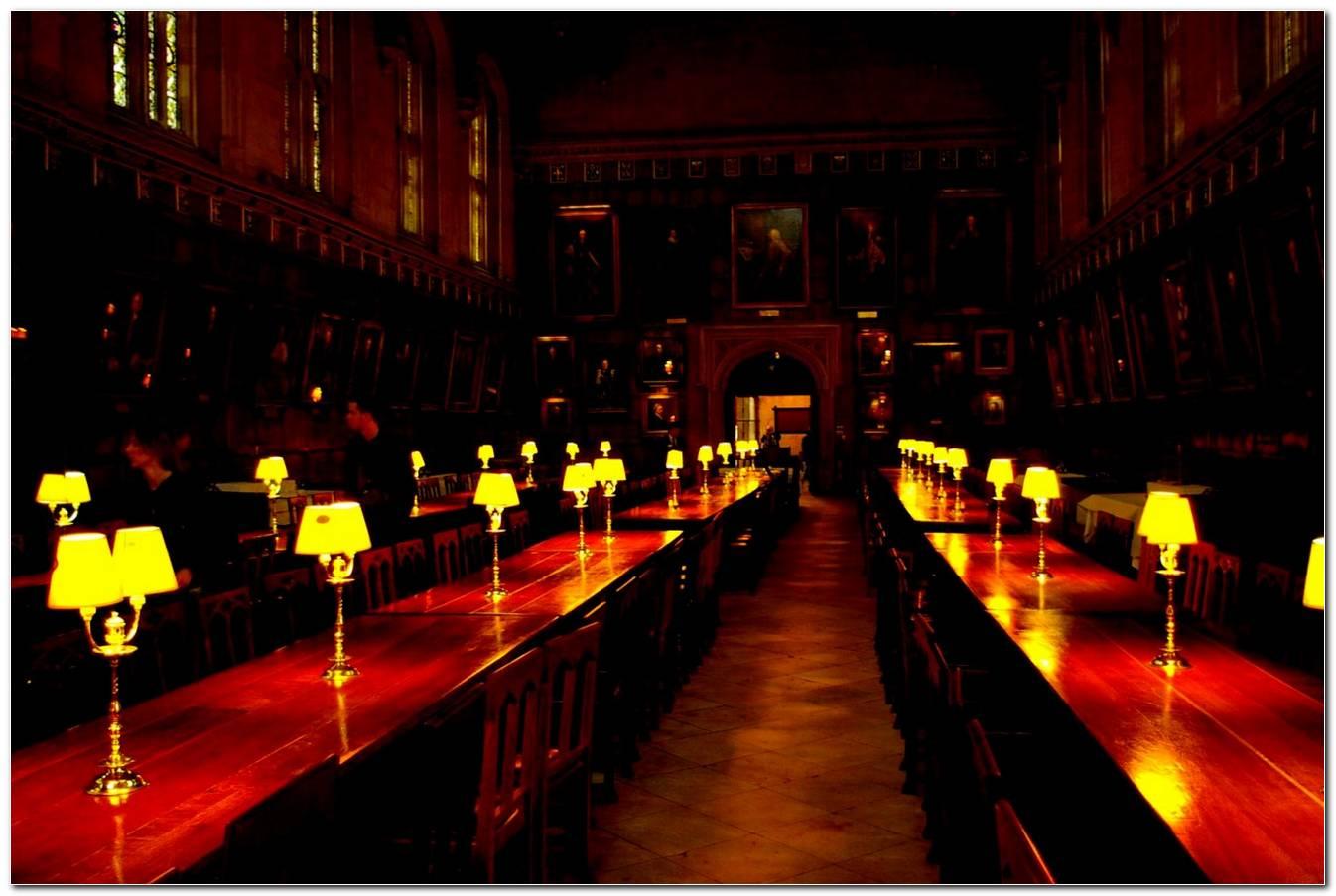 Sala De Jantar Hogwarts