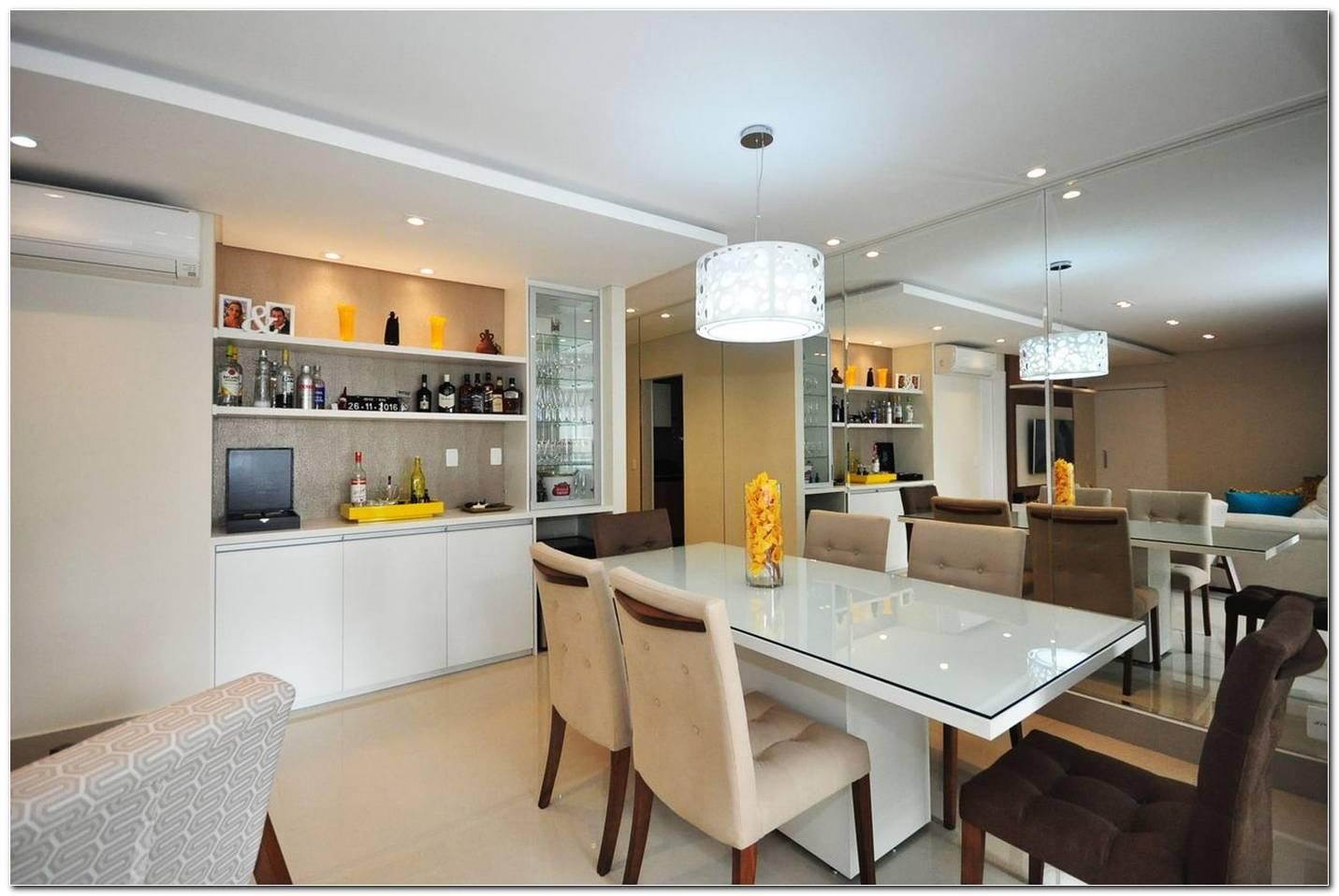 Sala De Jantar Moderna E Branca