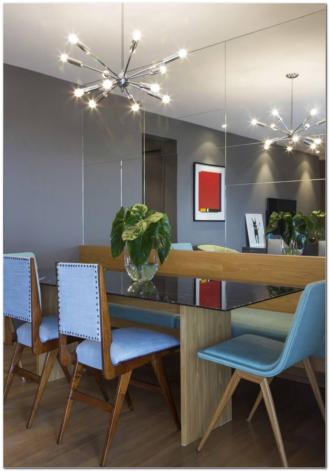 Sala De Jantar Pequena Aproveitamento E Decoração