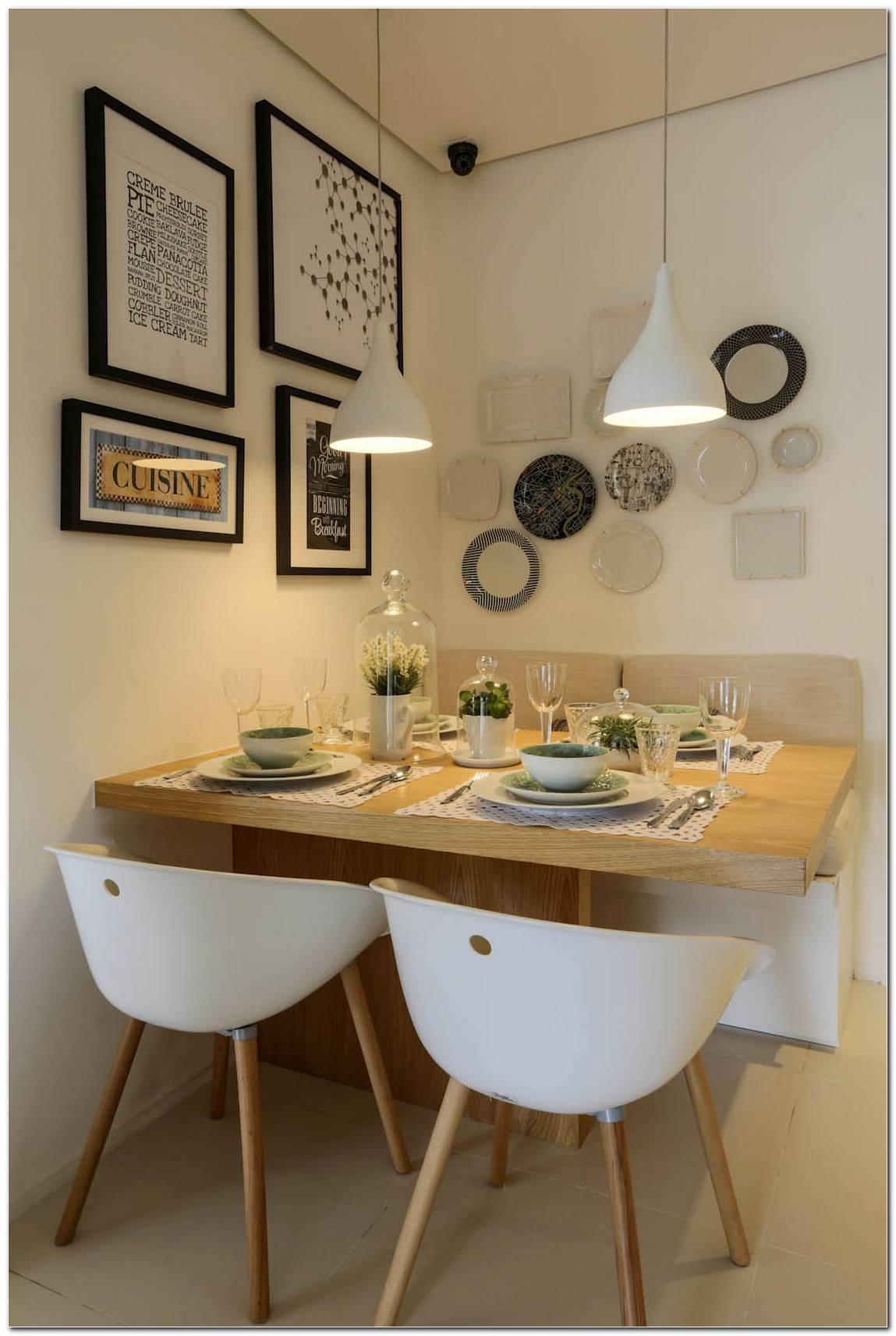Sala De Jantar Pequena Com Pendente
