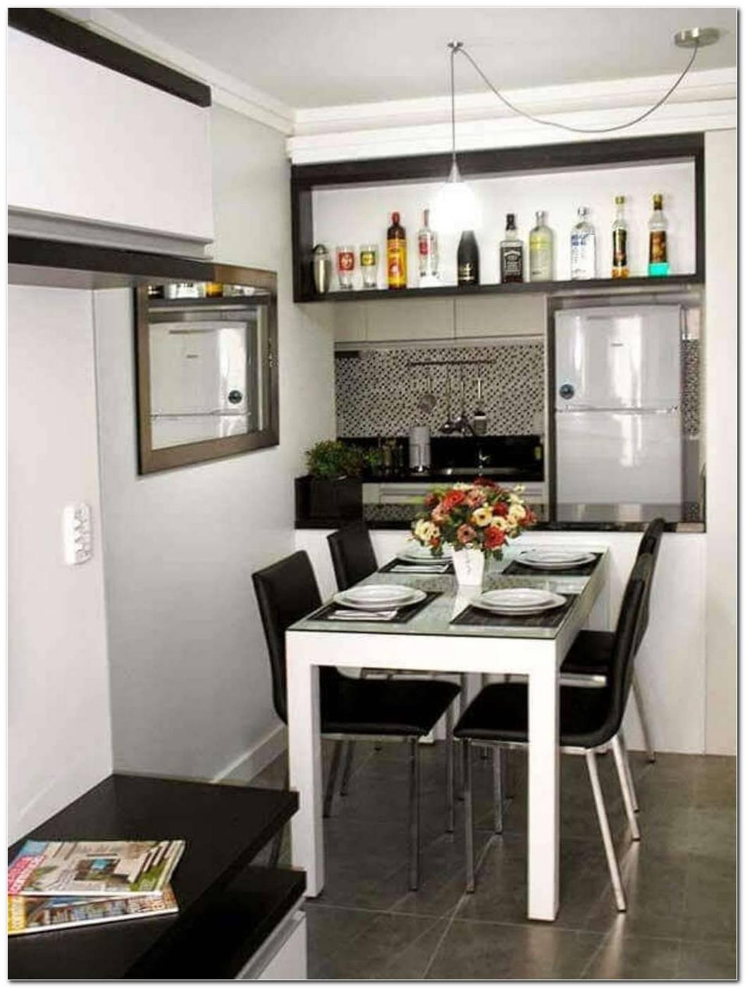 Sala De Jantar Pequena E Simples