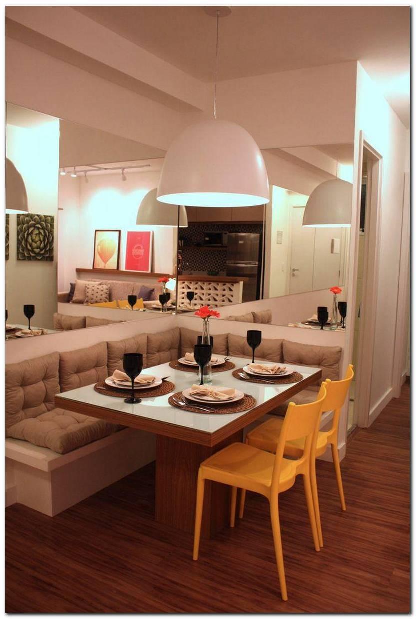 Sala De Jantar Pequena Em L