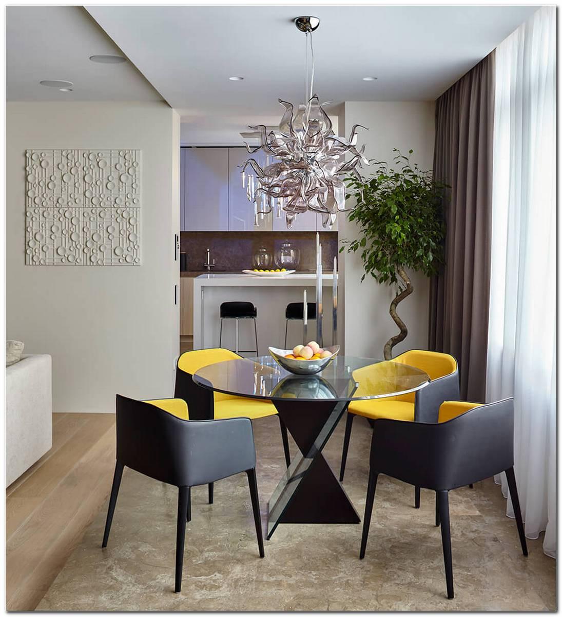 Sala De Jantar Pequena Planejada