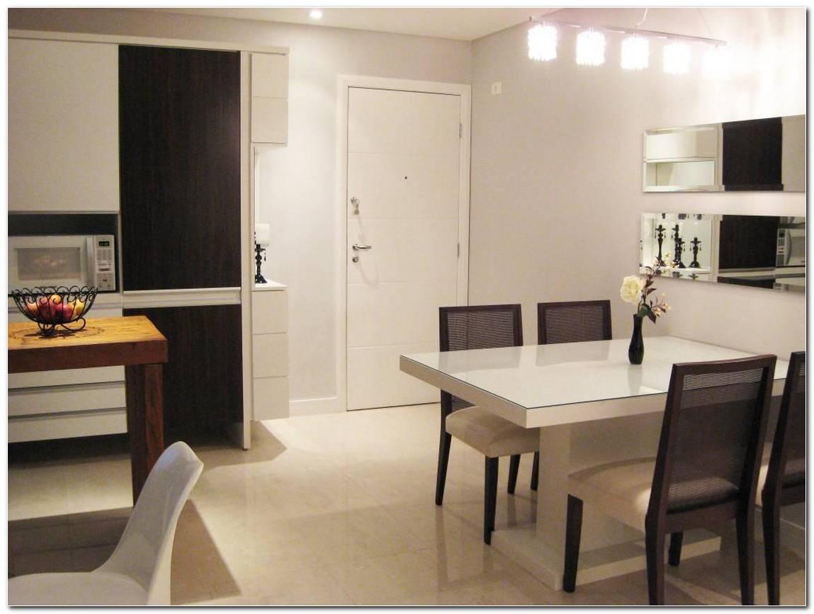 Sala De Jantar Pequena Preta