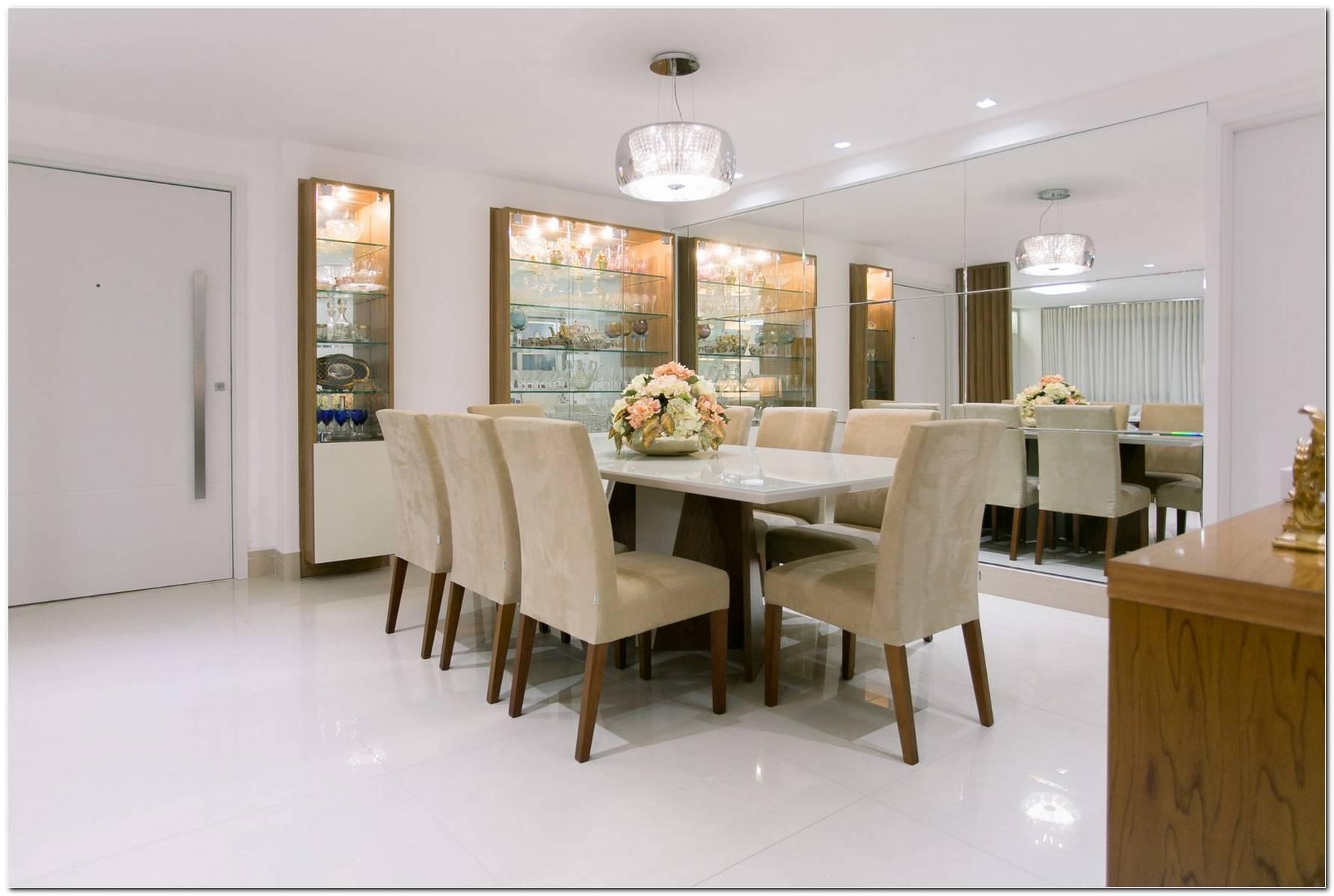 Sala De Jantar Planejada Pequena