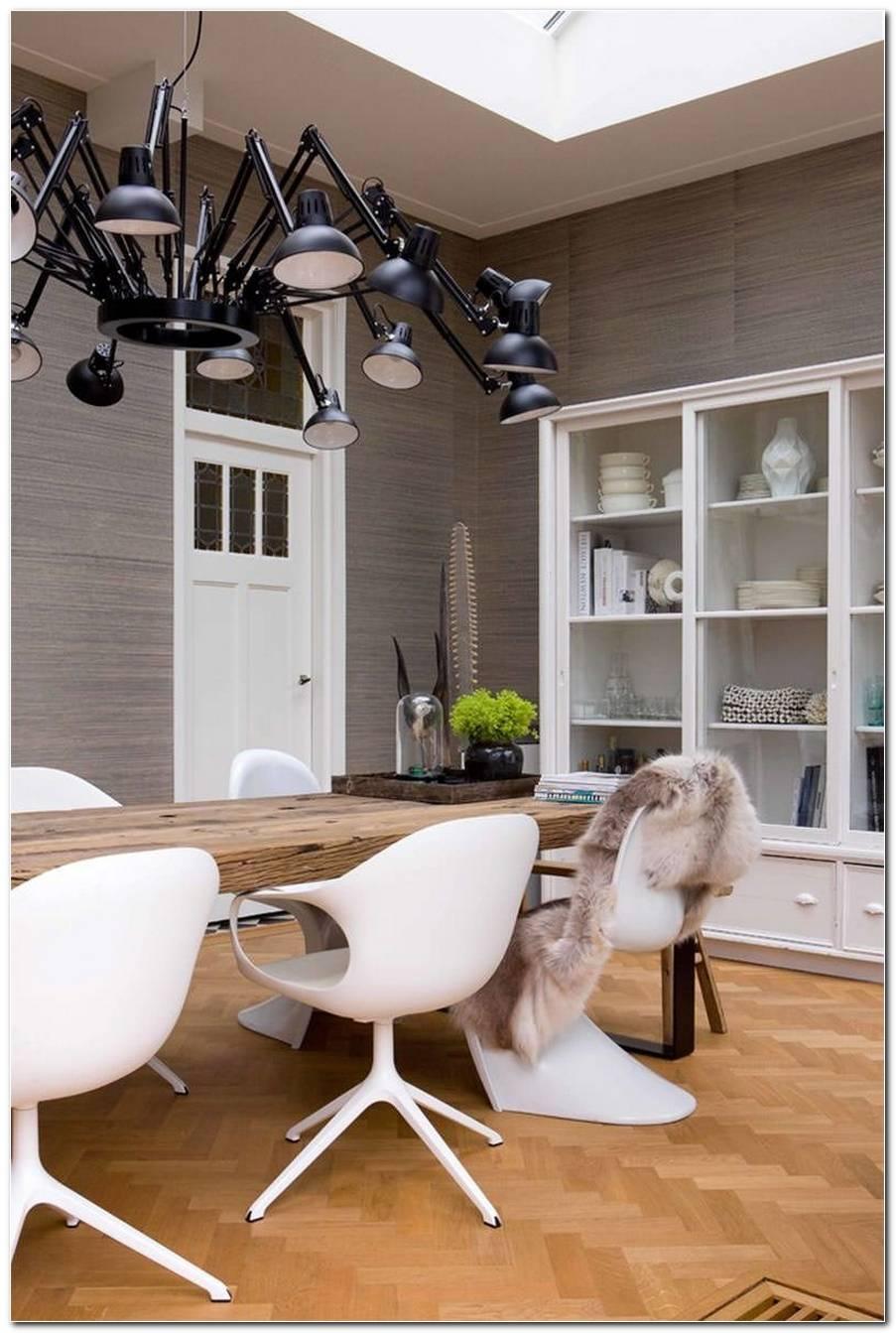 Sala De Jantar Rustica E Moderna
