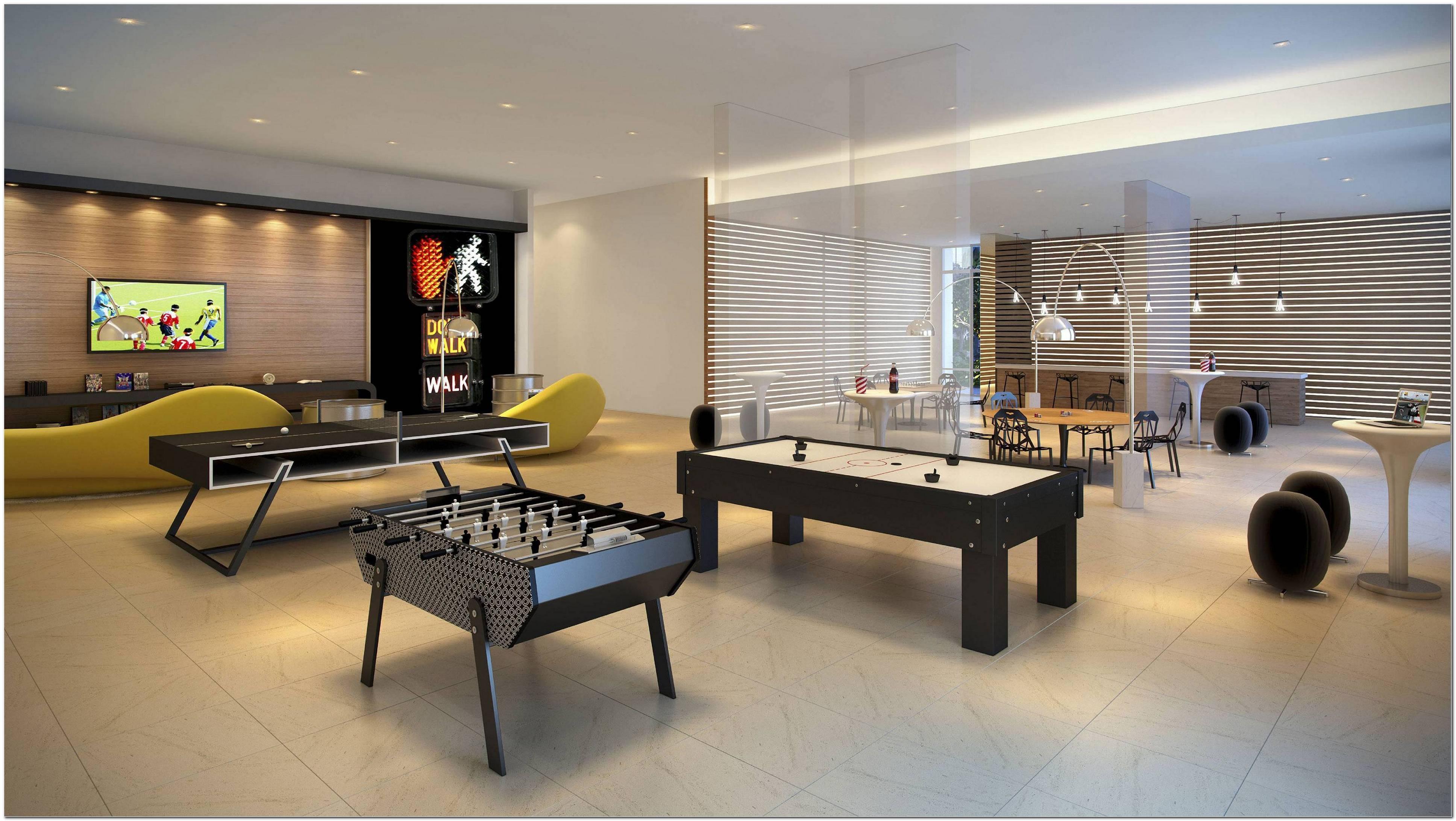 Sala De Jogos Decorada 50 Opções Incríveis Para Sua Casa