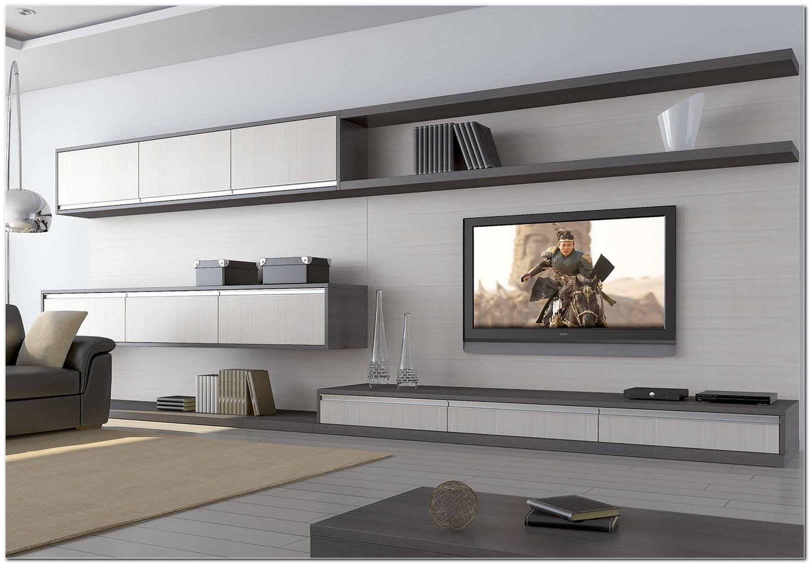 Sala De Tv Com Armario