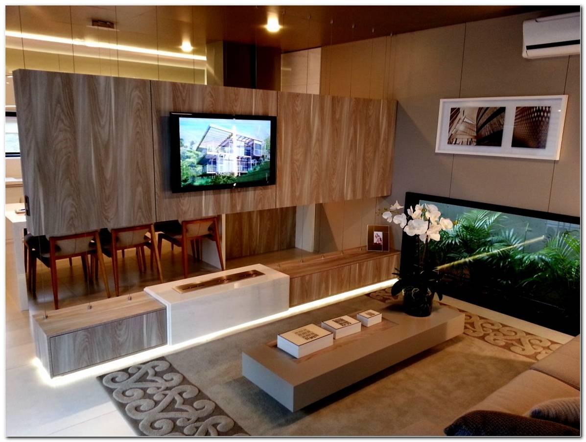 Sala De Tv De Apartamento Pequeno