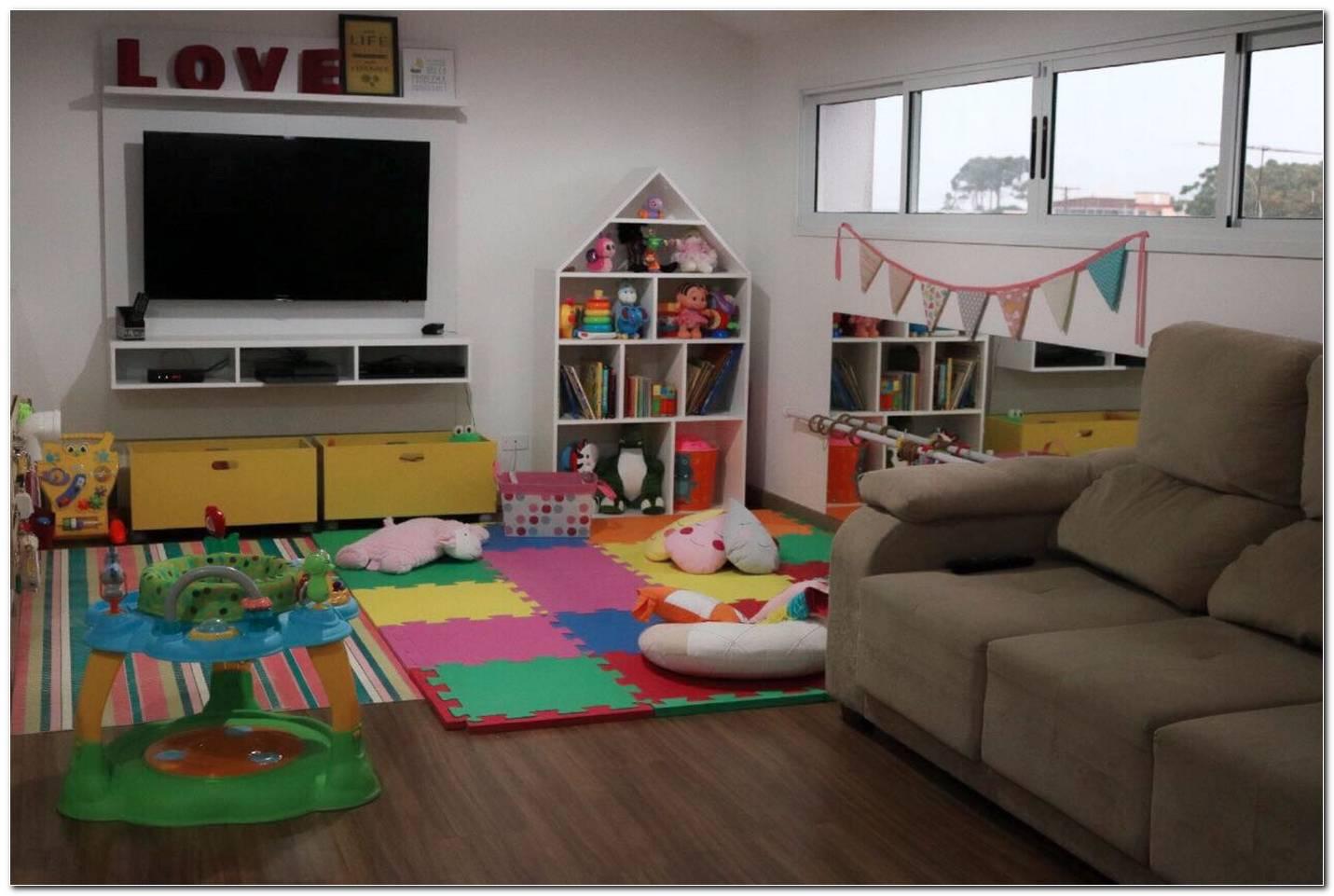 Sala De Tv E Brinquedoteca