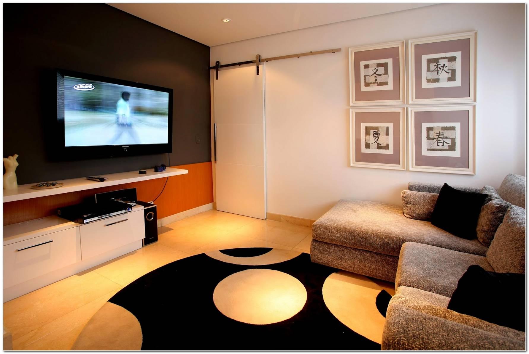 Sala De Tv E Quarto De Visita