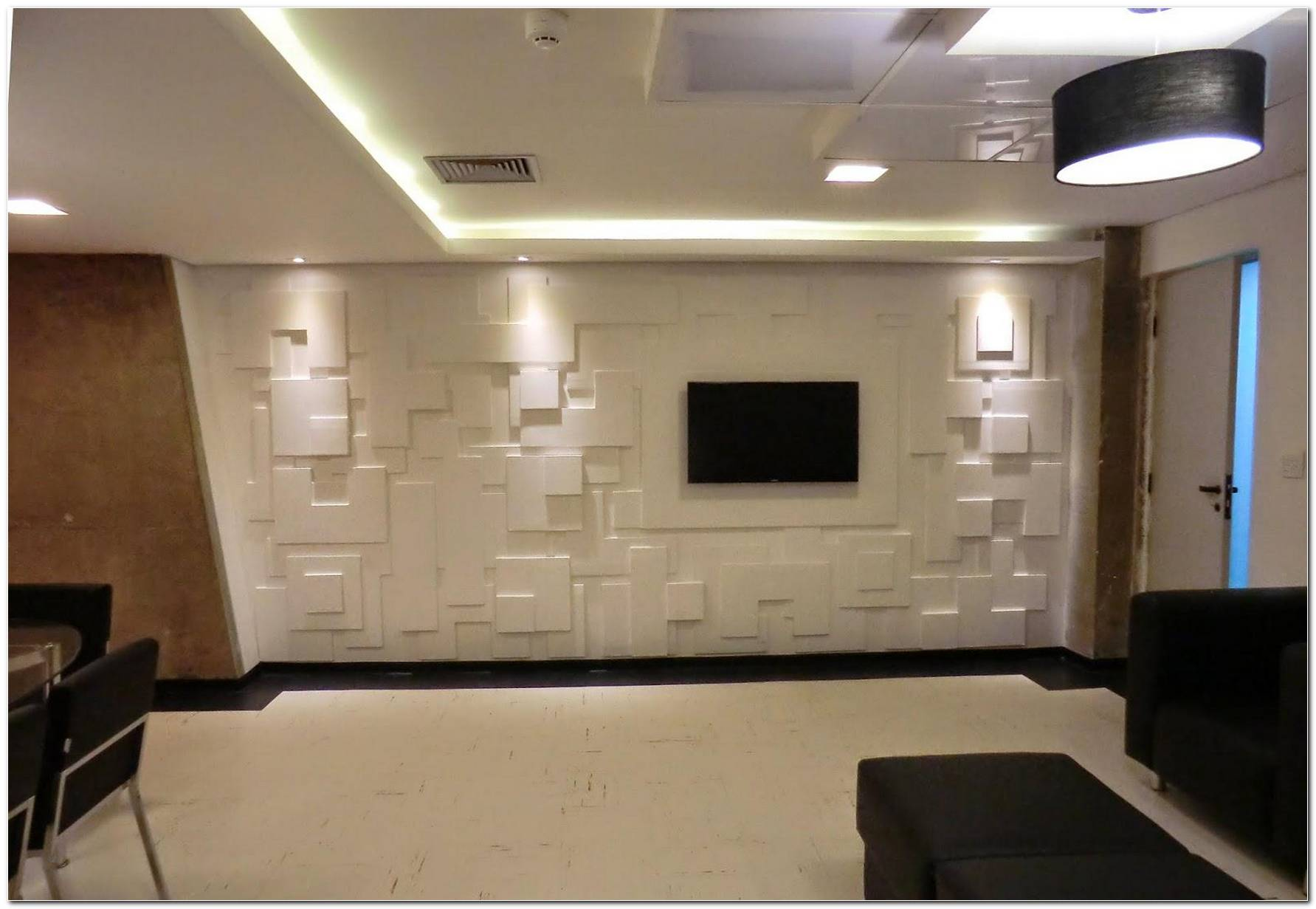 Sala De Tv Em Gesso