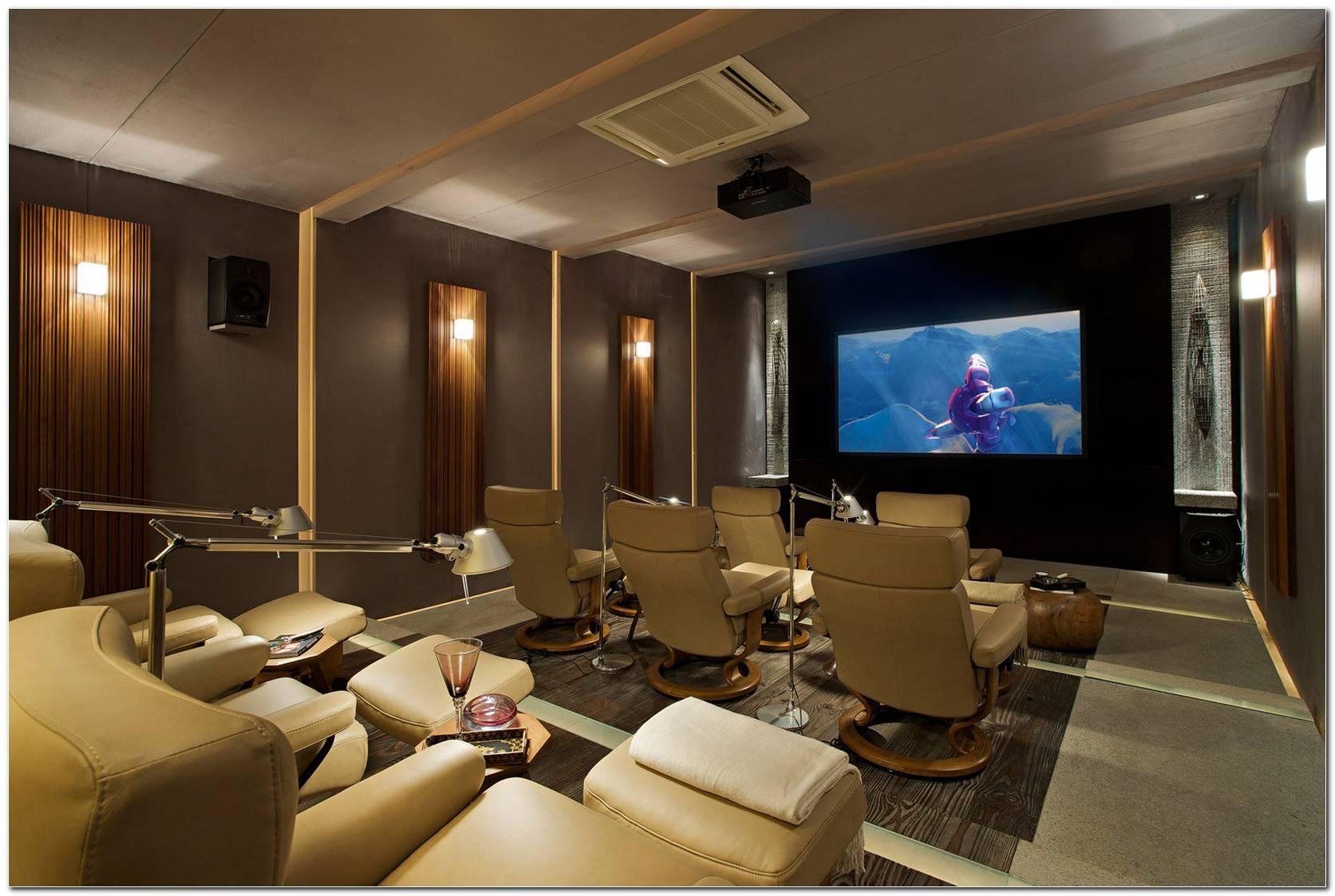 Sala De Tv Moderna E Sofisticada
