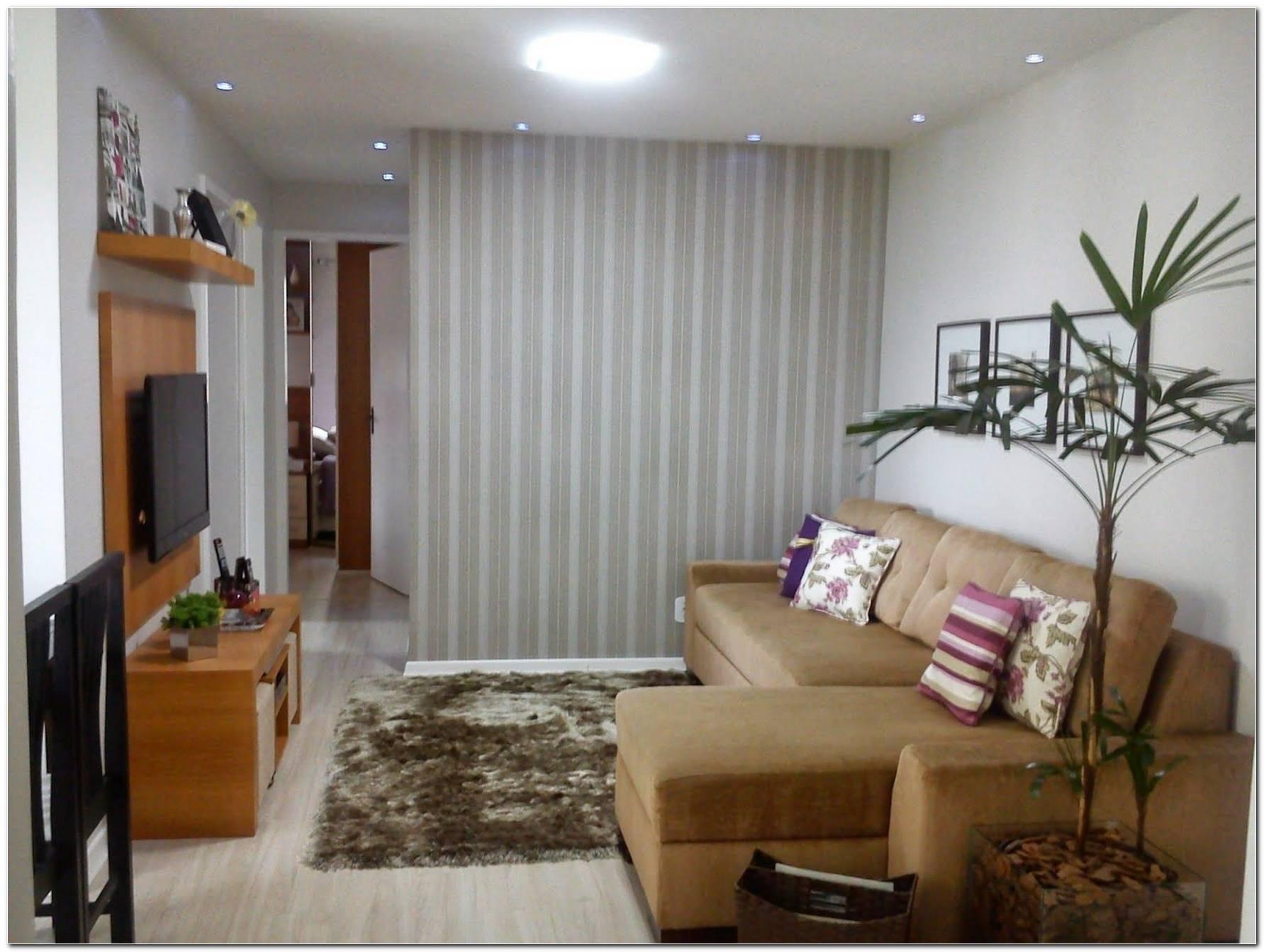 Sala De Tv Pequena Simples