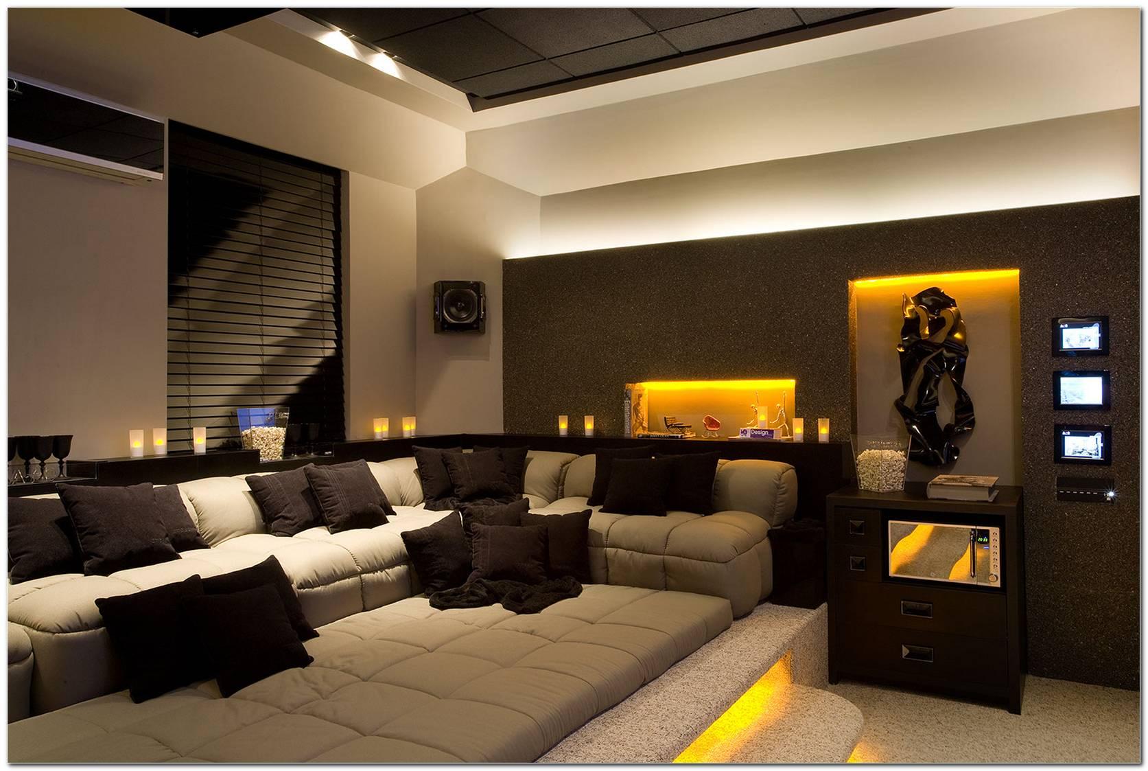 Sala De Tv Simples E Aconchegante