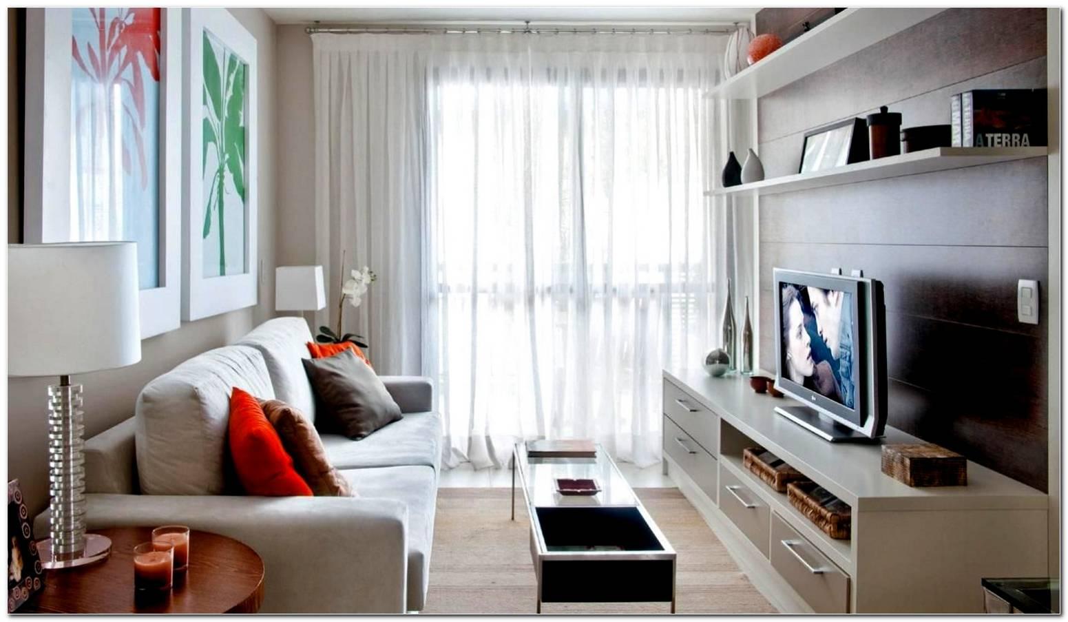 Sala De Tv Simples E Bonita