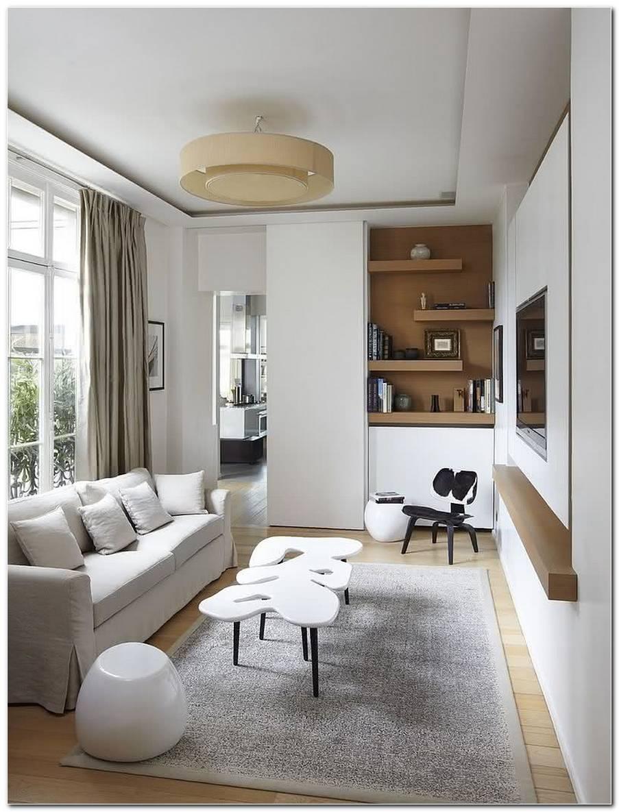 Sala De Tv Simples E Pequena
